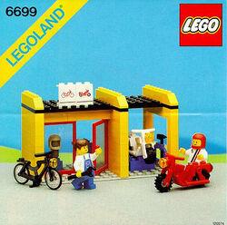 6699 Cycle Fix-It Shop