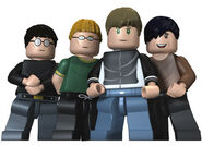 Blur rock band