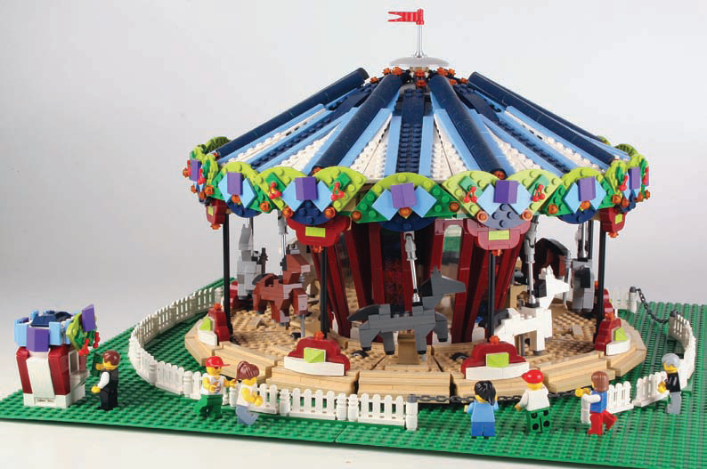 lego carousel 10257 instructions
