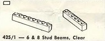 425.16 & 8 Stud Beams, Clear