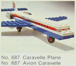 687-Caravelle Plane