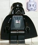 Darth Vader bluish gray head