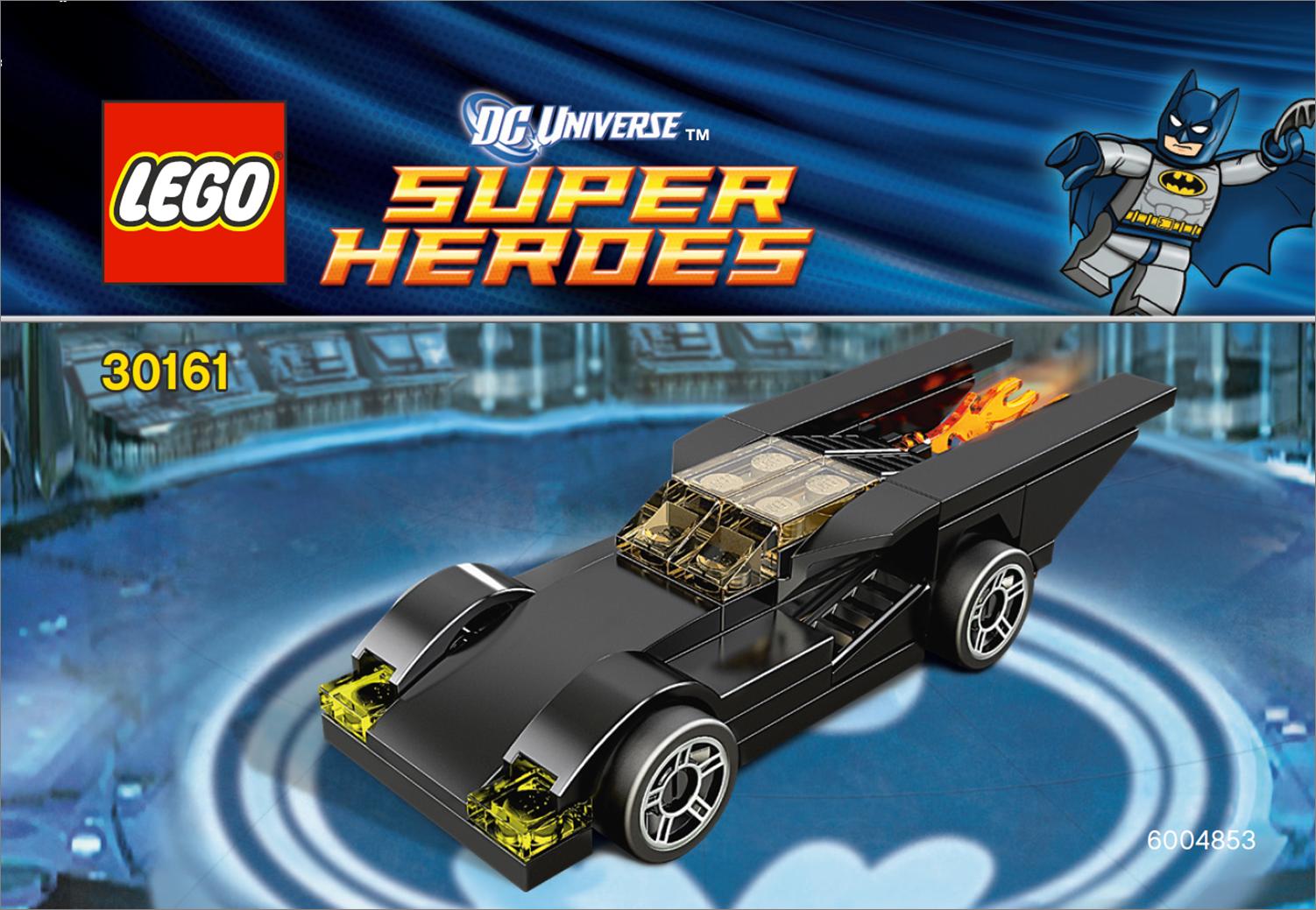 lego justice league c3 construction chemical warehouse battle with batman joker figures parallel import goods