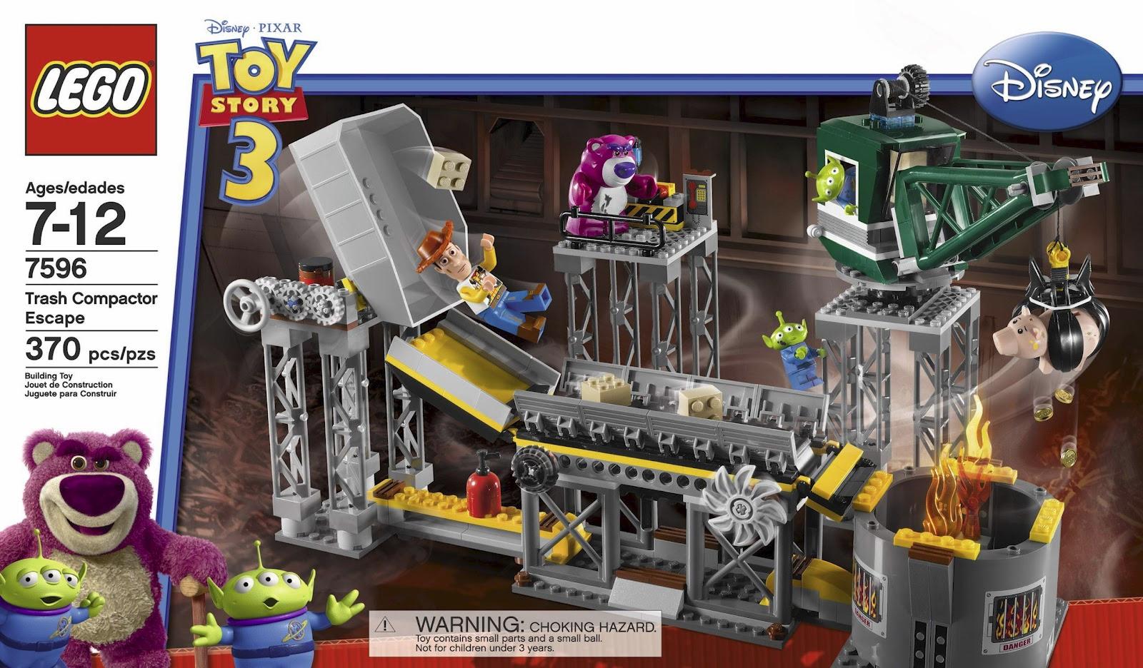 Lego Toy 3 : Trash compactor escape brickipedia fandom powered