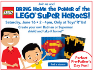 Super Heroes Shields Event Ad