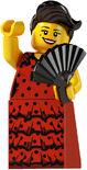 Lego minifigs series 6 Flamenco Dancer