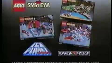 1993 LEGO System Ice Planet 2002 & Space Police 2 commercial-0