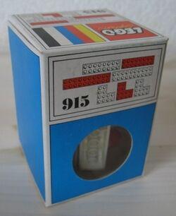 915-6 bricks with 16 and 20 studs and 3 Angle Bricks