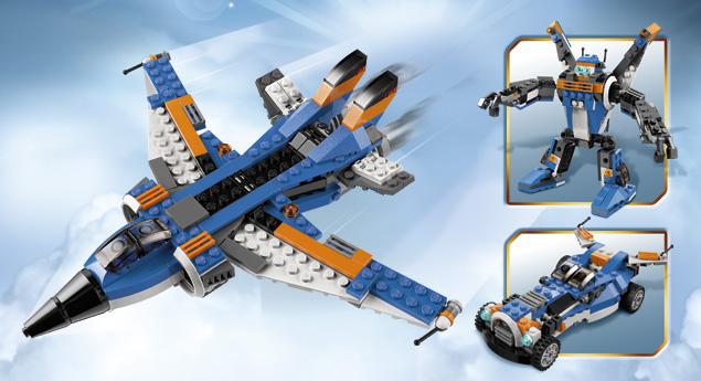 31008 l 39 avion de chasse wiki lego fandom powered by wikia - Avion de chasse en lego ...