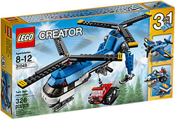 LEGO Creator Twin Spin Helicopter