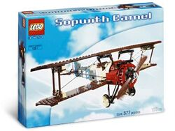 3451-Sopwith Camel Box Art