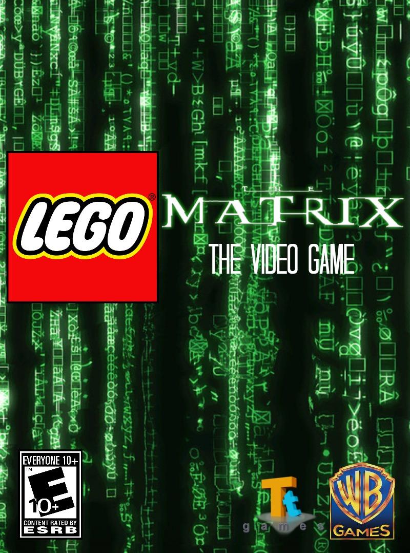 custom lego the matrix  the video game