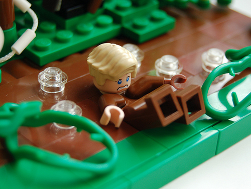 augustus gloop lego charlie and the chocolate factory
