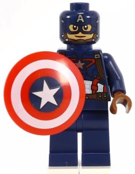 Captain America (A: AOU) | Lego Marvel and DC Superheroes ...