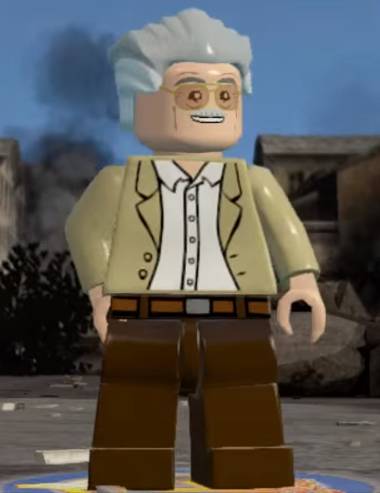 Lego marvel superheroes stan lee