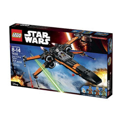 Poe's X-Wing Fighter boxed