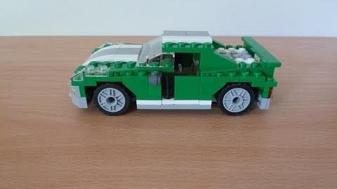 Lego creator 6743 3 in 1 Street Speeder Sporty green street machine first build