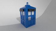 LEGO TARDIS Render