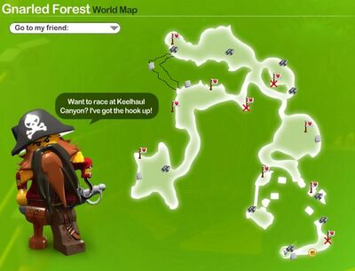 Gnarled Forest Icon Map