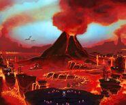 LEGO Universe Rayhawk Fire Realm