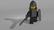 BUILD Minifigure Movie render 2