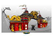 LEGOUniverse Ninja-Archway-Concept
