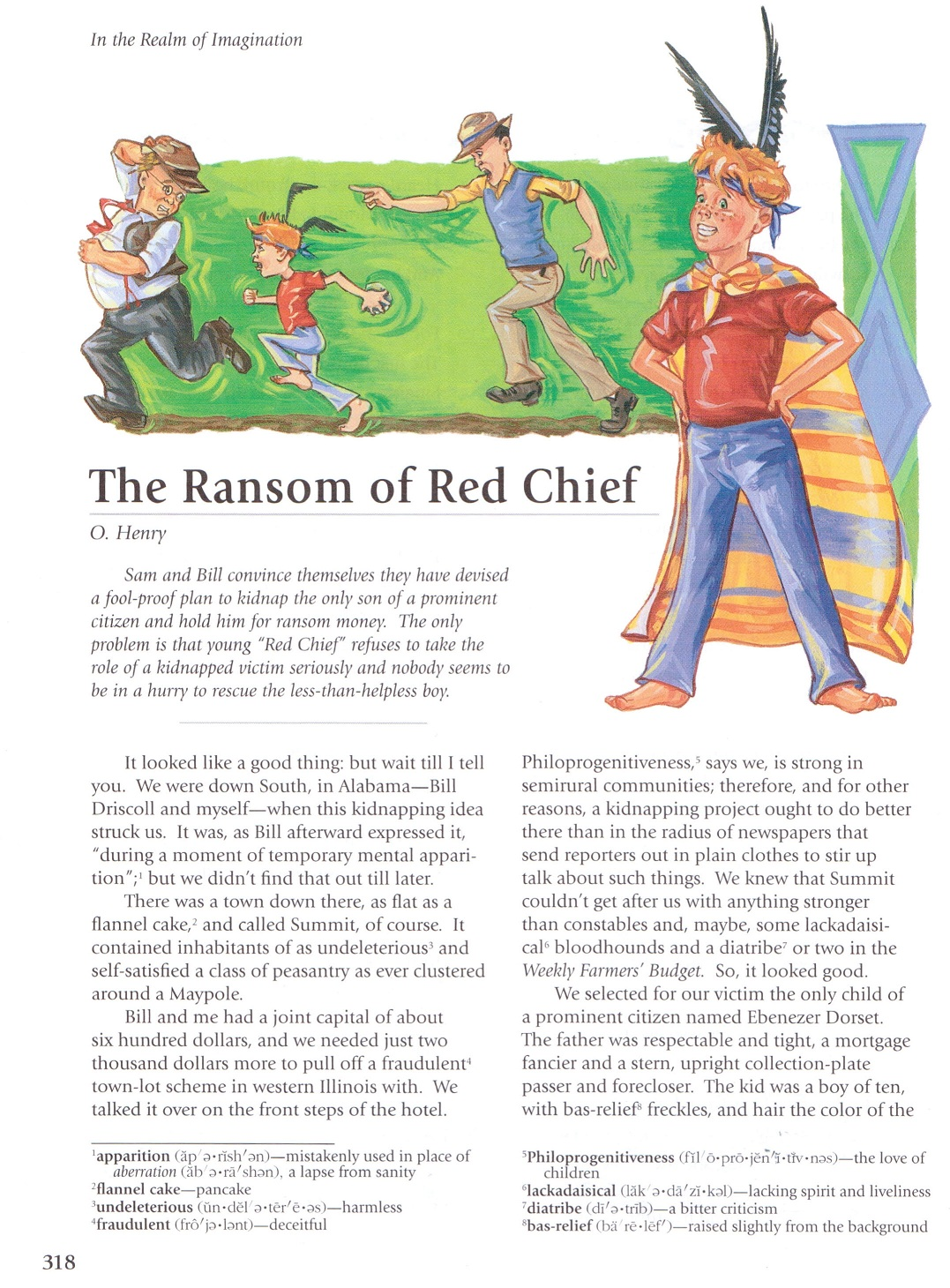 summary about the ransom of red Summary two small-time criminals, bill and sam, kidnap johnny, the 10-year-old red-haired son of an important citizen named ebenezer dorset, and hold him for ransom.