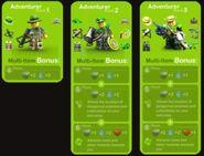 Adventurer Bonuses
