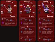 Shinobi Bonuses
