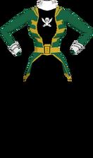 Gokai Green Suit F
