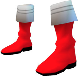 Gokai Red Boots
