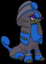 676 Furfrou Pharaoh DW Shiny