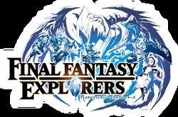 Final Fantasy Explorers Title