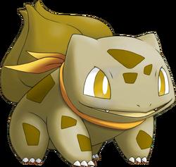 001 Bulbasaur ES Gold