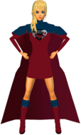 Supergirl RedBlu Skirt 6