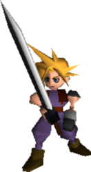 Cloud Strife Sword FFVII
