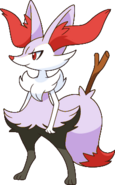 Shiny Braixen XY2