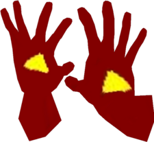 Sman Red Gloves