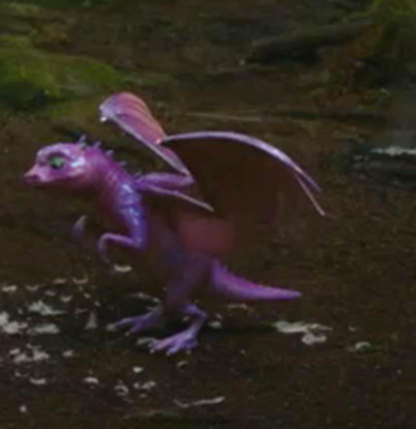attack spit acid mini dragon