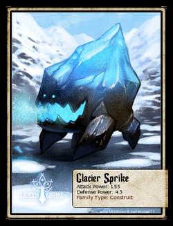 Glacier Sprike