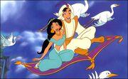 Aladdin jasmine carpet