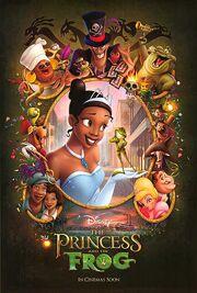 Princessandthefrogposter