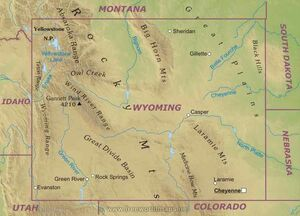 Wyoming-map