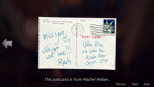 Note-chloesroom-postcardback