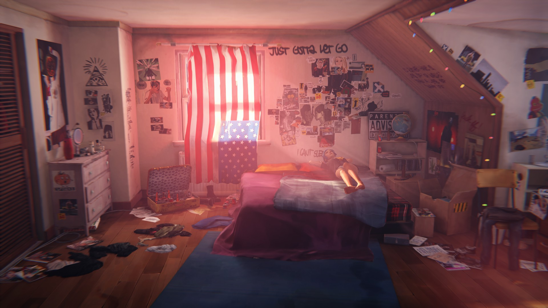 Bedroom Wallpaper Butterfly