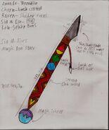 Sia M. Ese's Blade Staff