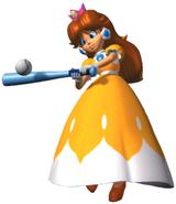 Daisy At Bat