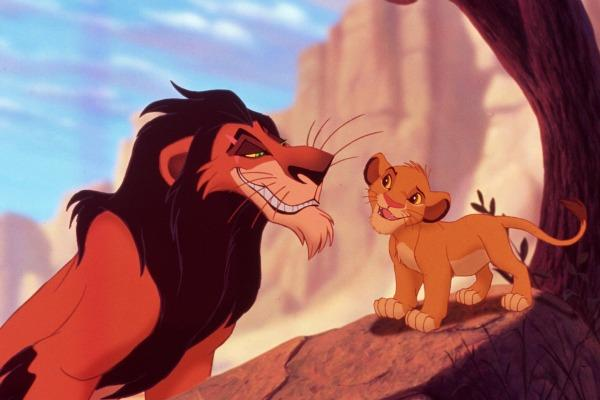 Image result for scar talks to simba