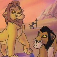 Young Mufasa and Taka