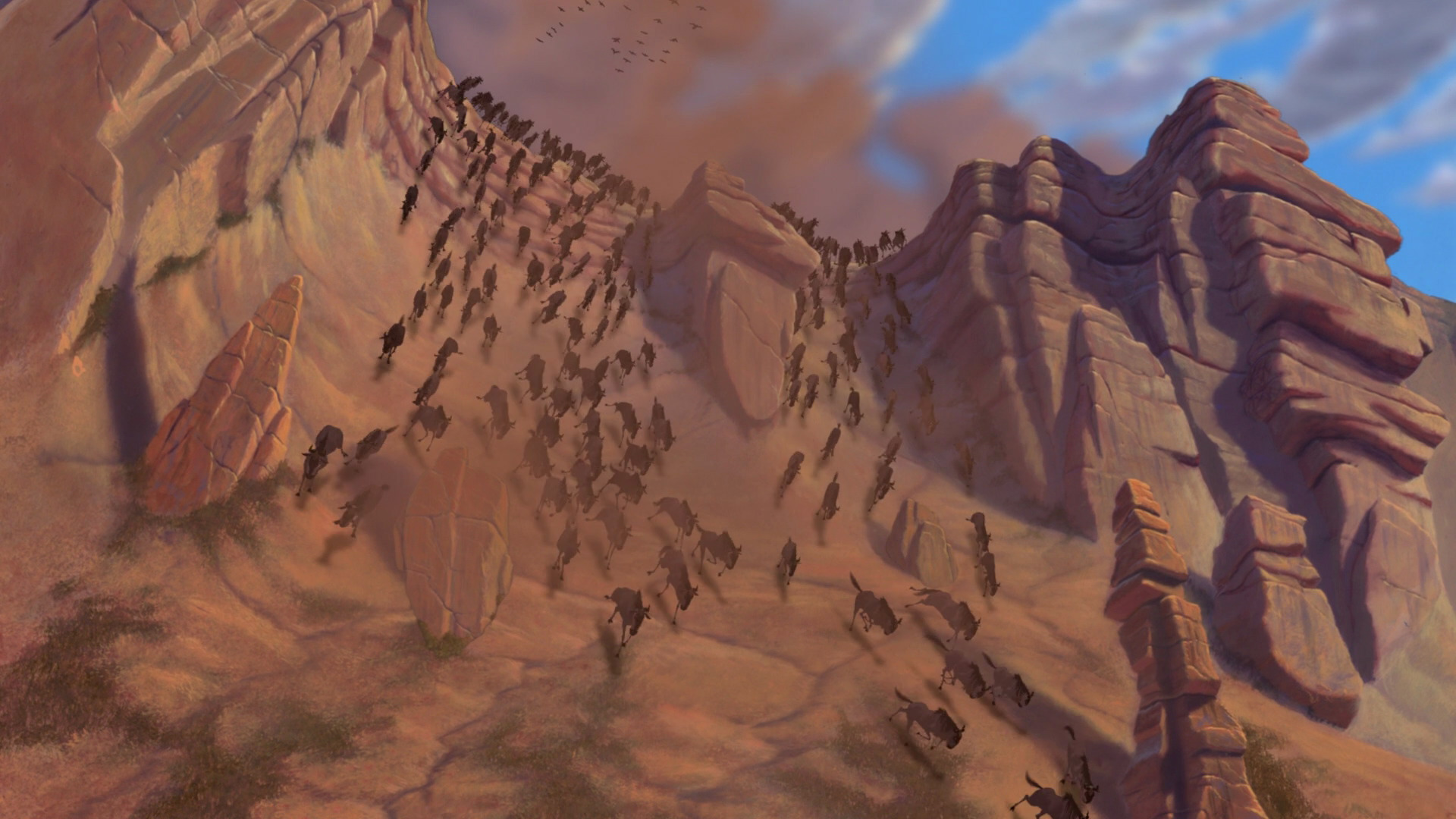 The Stampede The Lion King Wiki Fandom Powered By Wikia